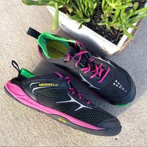 Merrell Barefoot Dash Glove Black Parrot Sneaker